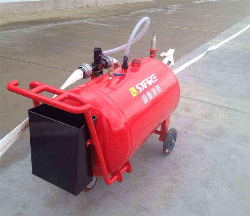 PY8/300半固定式(轻便式)泡沫灭火装置 使用说明书